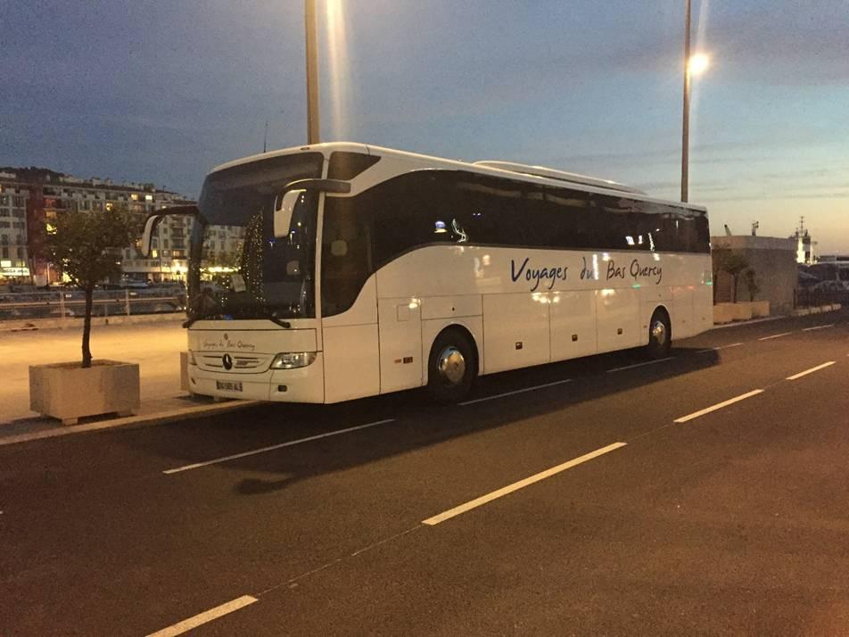 Nos Véhicules - Voyages du Bas Quercy - Grande capacité