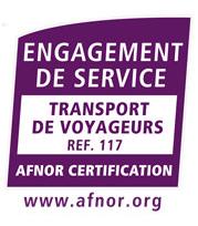 certification AFNOR, transport de voyageurs