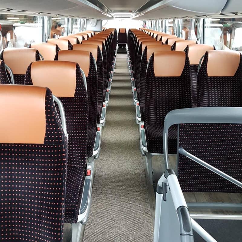 intérieur autocar tourisme voyages du bas quercy
