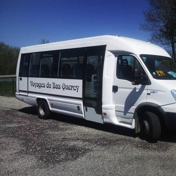 transport à la demande avec voyages du bas quercy
